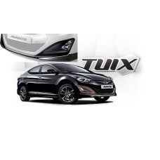 TUIX FRONT SKIRT SET FOR HYUNDAI AVANTE MD / ELANTRA 2013-15 MNR