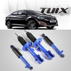 TUIX SPORTS GAS SHOCK ABSORBERS FOR HYUNDAI AVANTE MD / ELANTRA 2010-15 MNR