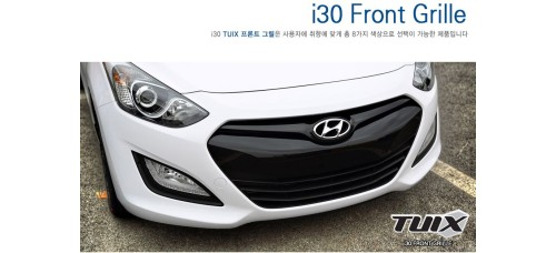 TUIX FRONT GRILLE SET FOR HYUNDAI I30 2011-15 MNR