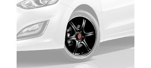 TUIX NEW RAYS 17 WHEEL SET FOR HYUNDAI I30 2011-15 MNR