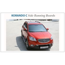 AUTO GRAND Side Running Board Steps for  Korando C