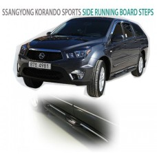 AUTOGRAND SIDE RUNNING BOARD STEPS FOR KORANDO / ACTYON SPORT 2012-20 MNR