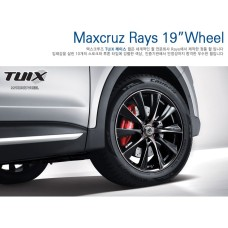 TUIX RAYS 19 WHEEL BLACK SET  FOR  HYUNDAI SANTA FE / GRAND / MAXCRUZE 2012-15 MNR