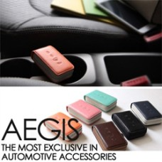 AEGIS HYUNDAI SANTA FE DM - SMART POP SMART KEY LEATHER KEY HOLDER (4 BUTTONS)