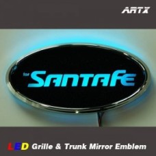 ARTX  STYLE - LED MIRROR TUNING EMBLEM SET NO.94 FOR HYUNDAI SANTA FE CM 2006-11 MNR