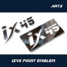 ARTX - LETTERING POINT EMBLEM IX45 - NO.10 FOR HYUNDAI SANTA FE DM 2012-14 MNR