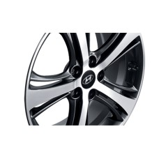 "TUIX 18"" DARK GRAY WHEEL SET FOR HYUNDAI SONATA YF / i45 2009-13 MNR"