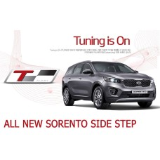 TUON KIA SIDE RUNNING BOARD STEPS FOR NEW SORENTO R 2015-18 MNR