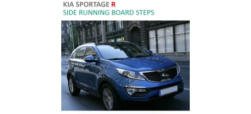 AUTO GRAND Side Running Board Steps for  KIA Sportage R