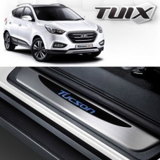 TUIX LED DOOR SILL SCUFF PLATES SET FOR HYUNDAI TUCSON / IX35 2010-15 MNR