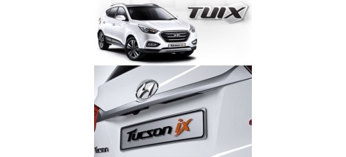 TUIX TAILGATE GARNISH FOR HYUNDAI NEW TUCSON / IX35 2010-15 MNR