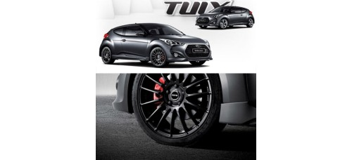"TUIX 18"" RAYS ALLOY WHEELS FOR HYUNDAI VELOSTER 2011-15 MNR"