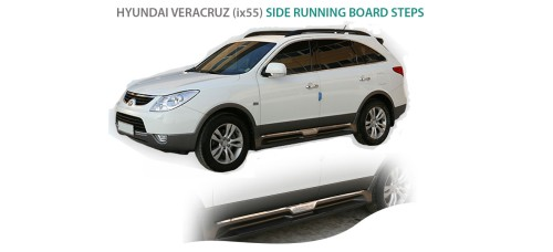AUTO GRAND SIDE RUNNING BOARD STEPS FOR HYUNDAI VERACRUZ iX55 2007-13 MNR